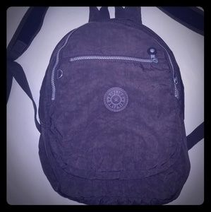 Kipling medium sized backpack grey EUC
